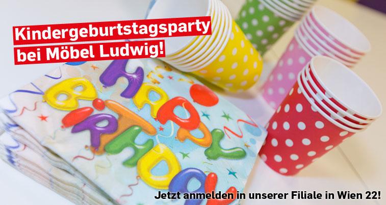 Geburtstagsparty bei Möbel Ludwig